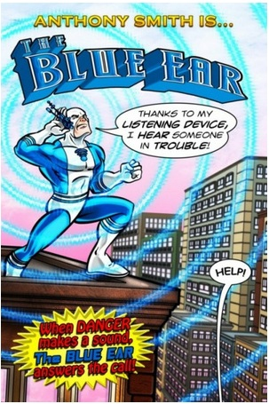 Marvel Comics Blue Ear